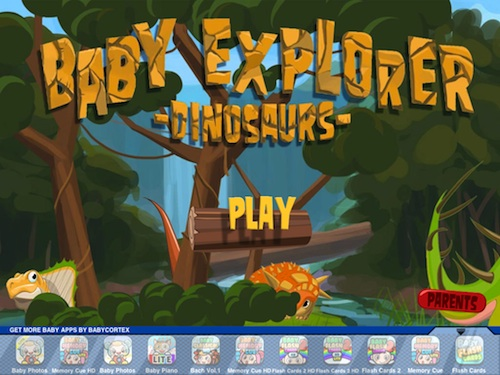 Baby Explorer Dinosaurs 01