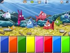 Piano de peces en Parque Infantil 1