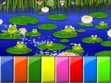 Piano de ranas en Parque Infantil 1