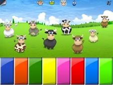 Piano de vacas en Parque Infantil 1