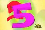 Tabla de multiplicar del 5 en vídeo