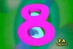 Tabla de multiplicar del 8 en vídeo