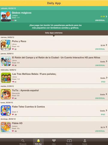 Las mejores apps de iPad cada día