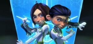 Zane y Zoey de Dream Defenders
