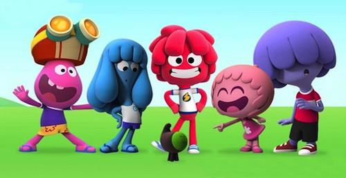 Los personajes de Jelly Jamm