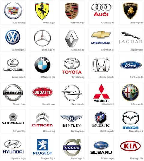 Marcas de carro y sus nombres imagui for Marcas de coches