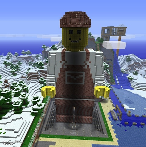 Epic Lego Man en Minecraft