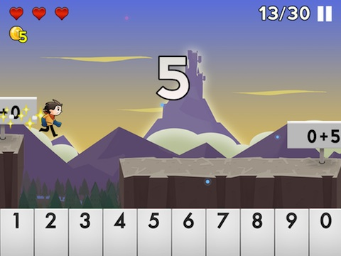 Number Run en iPad