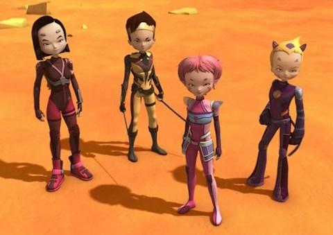 Personajes de Código Lyoko