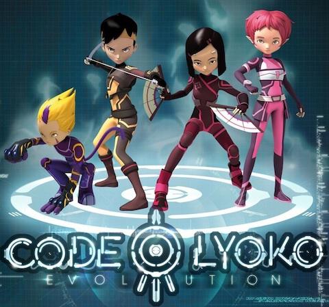 Los personajes de Código Lyoko