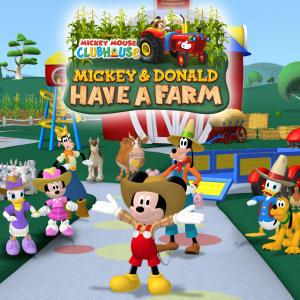 La casa de Mickey Mouse 4x01 Mickey y Donald tienen una granja