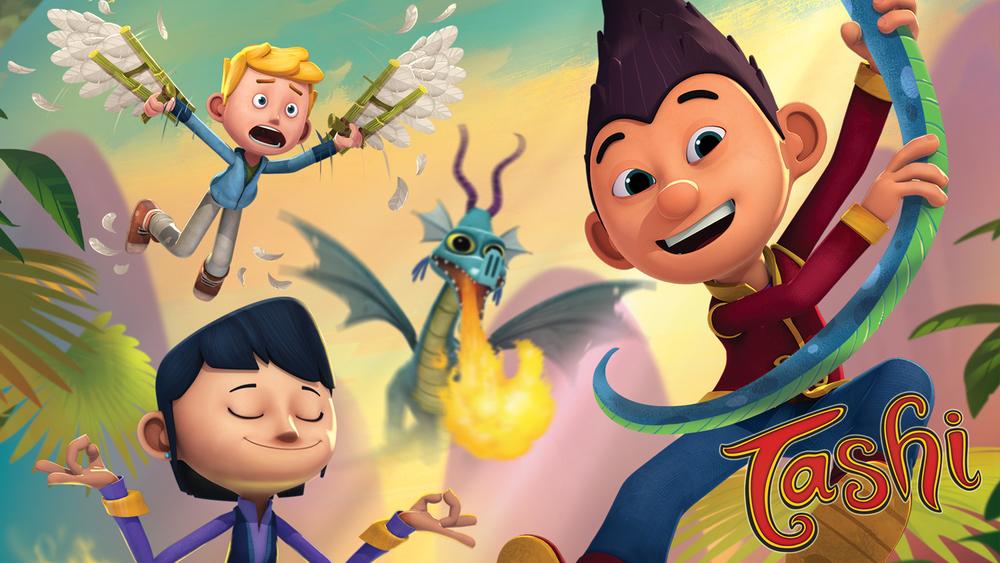 Tashi, la serie de dibujos animados