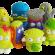 Sus juguetes preferidos: Los basurillas